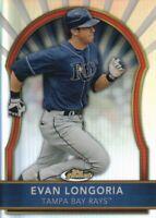 2011 Topps Finest Baseball Refractors #5 Evan Longoria 179/549 Tampa Bay Rays