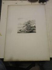 1772 ancienne gravure de Jean-Jacques de Boissieu