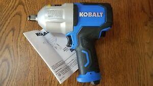 """KOBALT 1/2""""  Drive 1000LB MAX AIR IMPACT WRENCH- 0840780 SGY-AIR236 BRAND NEW!!!"""