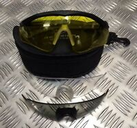 Genuine NATO Military Revision Sawfly Ballistic Protective Glasses BLACK JG