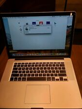 """Apple MacBook Pro 15.4"""" 2.2Ghz i7 - MJLQ2LL/A (May, 2015, Silver) 1tb nvme ssd"""