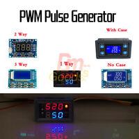 PWM Pulse Signal Generator Frequency 1/2/3Way Module Duty Cycle Ratio Adjustable
