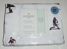 Authentic Kids TWIN Sheet Set Baseball Players Sports