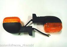coppia frecce arancioni marca ecie per ducati, malaguti e bmw