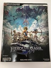 Heroes Of Mana - Bradygames Official Game Strategy Guide Nintendo DS Secret Book