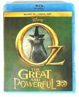 New Disney Oz The Great and Powerful 3D Blu-ray