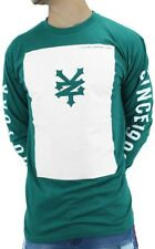 Zoo York Mens Summer Square Cotton Long Sleeve Tee Shirts, Money Club Time Is