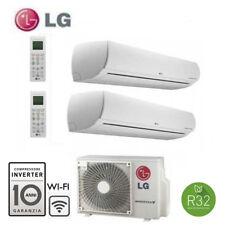 Climatizzatore  LG Libero Plus Wifi Dual Split 7000+12000 MU2R15 UL0  A+++  R32
