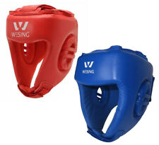 Wesing Leather Head Guard - AIBA Approved Boxing Gear - Morgan Sports