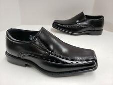 Kids Stacy Adams Danton Bicycle Toe Slip On Loafer Dress Shoes Black 43229 001