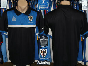 Afc Wimbledon (Dons) Admiral Polo Style Shirt Trikot Maillot Practice Leisure
