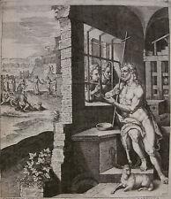 HANS COLLAERT `JOHANNES IM GEFÄNGNIS; JOHN THE BAPTIST IN PRISON` ~1585
