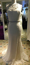 """Watters """"Keira"""" Sample Bridal Gown Size 10 #4065 **STILL CURRENT"""