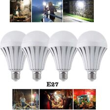 4 Emergency Rechargeable Bulbs, Outdoor Camping Energy-saving Spare Batteries