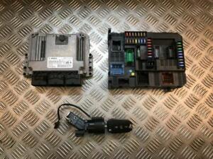 12-15 PEUGEOT 208 1.6 HDI DIESEL MANUAL ENGINE ECU KIT 9807885980/9807532080