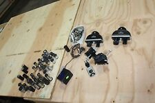 LARGE LOT OF NIKON MICROSCOPE PARTS CARL ZEISS OLYMPUS