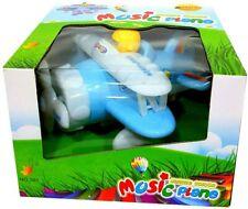 Mini Plane With Light & Music Sound Kids Airplane Toy