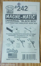 Magne-Mat Kadee HO #153 Whisker Scale Self-Centering Knuckle Couplers Kit
