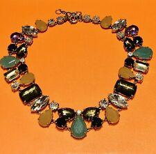 J. Crew Multi Color Crystal Collar Necklace