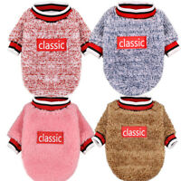 Hot Soft Fleece Dog Jumpsuit Winter Dog Clothes Small Puppy Coat Pet Outfits