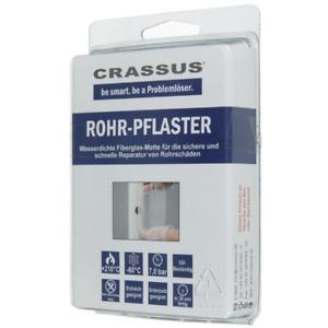 Crassus Rohr Pflaster Rohrreparatur Rohrpflaster Lochreparatur CRP 10/15
