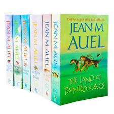 Jean M Auel Earths Children Series 6 Books Collection Land of Painted Caves NEW