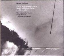 Heinz Holliger: Elliott Carter toutou Yun Hautbois Quartet ECM 2cd Zehetmair Demenga