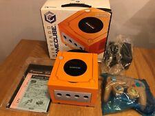 Boxed GameCube Spice Orange Console