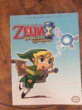 The Legend of Zelda Phantom Hourglass Premiere Edition Official Game Guide Book