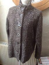 🍀Next 🍀UK 20 (48) Brown Wool Blend Jacket