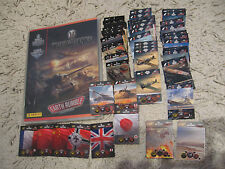 Panini world of tanks complete 275 cards  binder limited