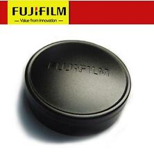 Original FUJI Fujifilm X10 X20 X30 Camera Metal Front Lens Cap Cover - BLACK