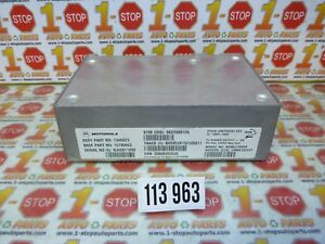 04 05 06 BUICK RENDEZVOUS ONSTAR COMMUNICATION CONTROL MODULE 15795953 OEM