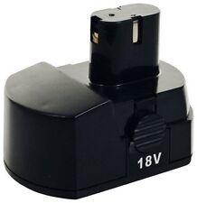 Trademark Stalwart Tools™ 18v NiCd Battery 75-6618V for 78 Pc Cordless Drill kit