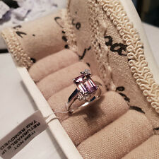 Stunning Anahi Ametrine & Zircon Ring in platinum over Sterling Silver 'M'