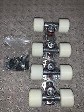 Skateboard Roller Skate Wheels & Trucks 40mm MPC Urethane Wheel Aluminum Truck