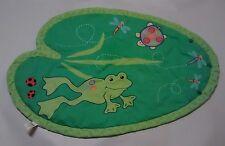 Boppy Baby Activity Play Mat Green Pond Frog Turtle Theme Kids II Dragon Flies