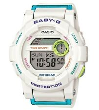 Casio Baby-G * BGD180FB-7 G-Lide White and Blue Surf Watch COD PayPal