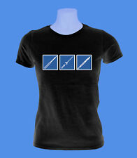Girlie Damen Shirt Piercing Bodymod Punch Skalpell Nadel move2be schwarz S M L