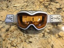 Oakley Stockholm Ski Snowboarding Winter Sports Goggles Pearl White