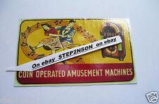 Wurlitzer 1015 Jukebox machine Waterslide Decal  Juke Box 1946 Coin Amusement