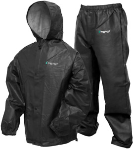 Waterproof Rain Suit Jacket Pants Outdoor Adjustable Hood Protector Motorcycle
