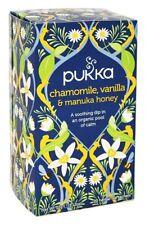 Pukka Organic Chamomile, Vanilla & Manuka Honey Herbal Tea