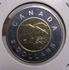 W5 CANADA $2.00 COIN TOONIE 2007MM BU FROM A ROYAL CANADIAN MINT SET PERFECT
