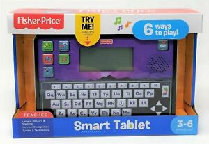 FISHER PRICE SMART TABLET - EDUCATIONAL & FUN TOY,  3-6 YRS  NEW, 6 WAYS TO PLAY