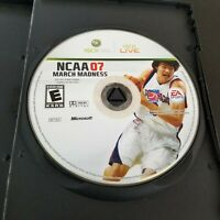 NCAA March Madness 07 (Xbox 360, 2007) Disc Only - Tested - FREE SHIPPING
