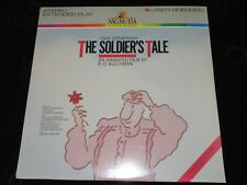 The Soldiers tale Igor Stravinsky LaserDisc Laser Disc LD