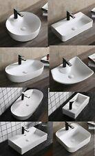 KERAMIK AUFSATZWASCHBECKEN WASCHBECKEN WASCHTISCH WASCHSCHALE HANDWASCHBECKEN WC