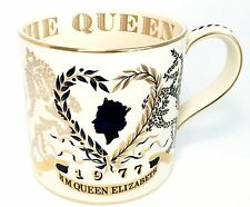 Wedgwood Queen Elizabeth II Silver Jubilee Mug by Richard Guyatt