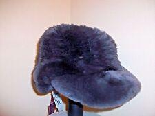 Glamourpuss Real Rabbit Fur Hat. NWT $285.00